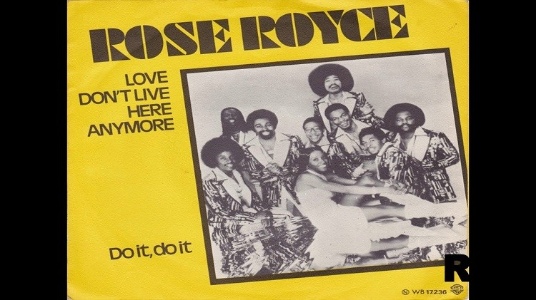 """ROSE ROYCE """"Love don't live here anymore"""""""