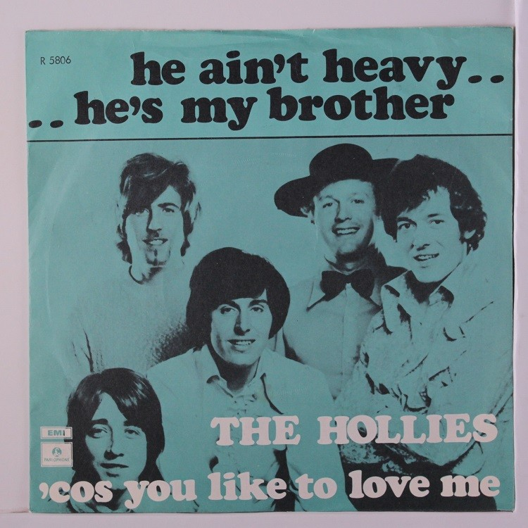 """THE HOLLIES """"He ain't heavy he's my brother"""""""